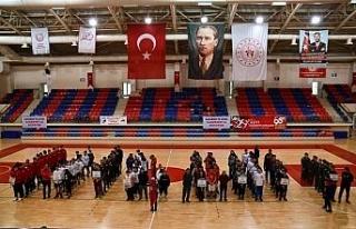 Okul Sporları Gençler-B Basketbol Grup müsabakaları...