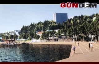 Zonguldak sahilinde yapılacak proje ertelendi...