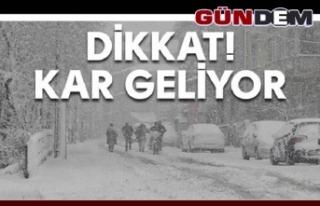 Zonguldak Valiliği'nden yağış, soğuk hava ve...