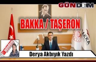 BAKKA / TAŞERON