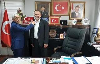 Başkan Şahin'e Yeşilay'dan ziyaret