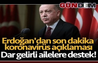 """Cumhurbaşkanı Erdoğan: """"Biz güçlü bir Milletiz,..."""