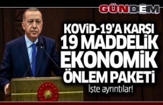 Cumhurbaşkanı Erdoğan Ekonomik İstikrar Kalkanı...