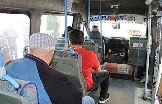 Genelge sonrası minibüslerde yolcu sayısı 7'ye...