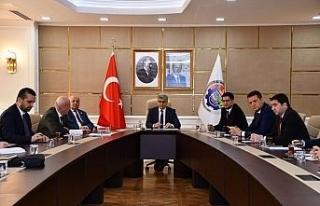 KÖYDES değerlendirme toplantısı Vali Gürel başkanlığında...