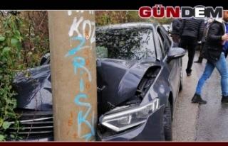 Kozlu'da kaza; 2 kişi yaralandı…