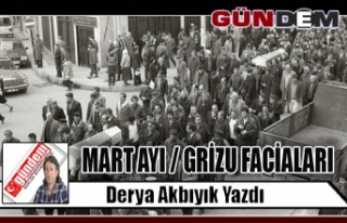 MART AYI / GRİZU FACİALARI