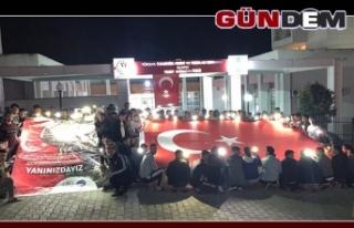 Öğrencilerden Mehmetçik'e anlamlı destek!...