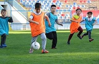Futbolda Özkaynak Projesi başladı