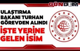 Ulaştırma ve Altyapı Bakanı Mehmet Cahit Turhan...