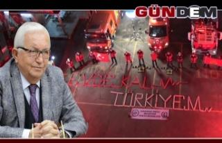 """""""UYARILARI DİKKATE ALIN, EVDE KALIN"""""""