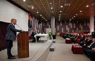 """Vali Gürel, """"Bölgenin hamisi olacak devlet..."""