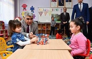 Vali Gürel okul ziyaretlerine devam ediyor