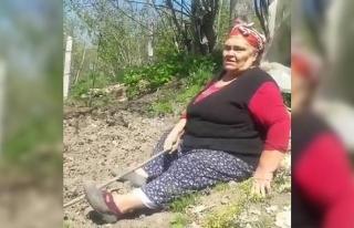 Bartınlı 80 yaşındaki Nazmiye teyze şivesiyle...