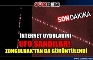 İnternet uydularını UFO sandılar!, Zonguldak'tan...