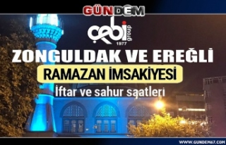 İşte Zonguldak ve Ereğli Ramazan İmsakiyesi 2020