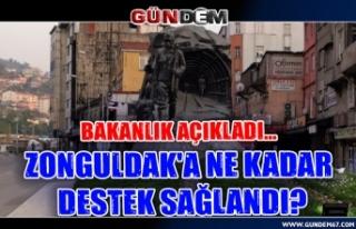 Bakanlık Açıkladı... Zonguldak'a ne kadar...