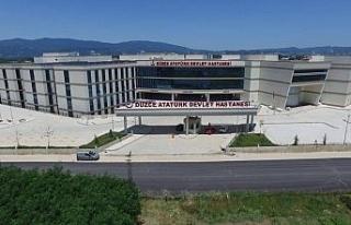 Düzce Atatürk Devlet Hastanesi, sağlık turizmi...