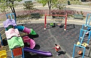 Minikler ve gençler için oyun alanları ve parklar...