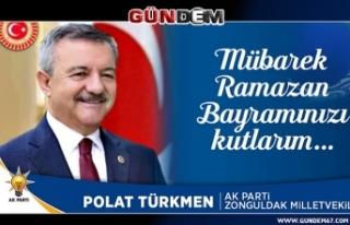 Milletvekili Türkmen, Ramazan Bayramını kutladı...