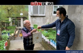 Vefa Grubu Mustafa amcayı ziyaret edip moral verdi...