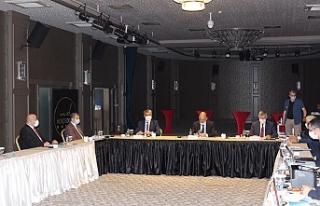 BAKKA Yönetim Kurulu toplantısı Bartın'da gerçekleştirildi