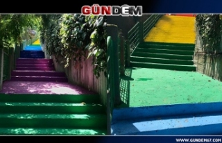 Merdivenler Şehri Zonguldak Artık Rengarenk