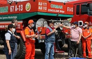 Orman Bölge Müdürlüğü yangınlara hazır