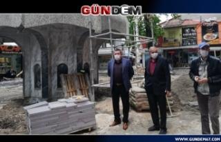 ŞADIRVAN RESTORE EDİLİYOR...
