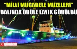 TARİHİ KENTLER BİRLİĞİ'NDEN ALEMDAR GEMİSİ...