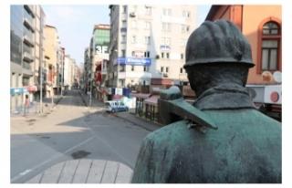 Zonguldak,da sokağa çıkma kısıtlaması başladı!...