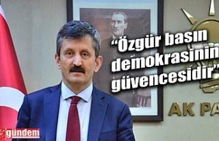 AK PARTİ İL BAŞKANI TOSUN'UN BASIN BAYRAMI...