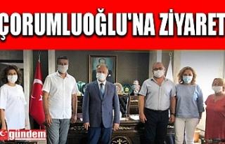 AVRUPA EREĞLİLİLER DERNEĞİ'NDEN ÇORUMLUOĞLU'NA...
