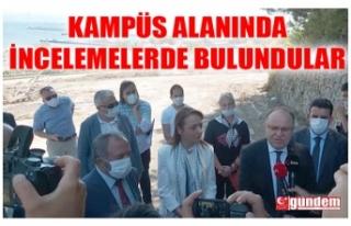 BAŞDANIŞMAN ORUÇ VE BERABERİNDEKİLER KAMPÜS...
