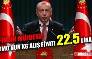 CUMHURBAŞKANI ERDOĞAN'DAN FINDIK ÜRETİCİSİNE...