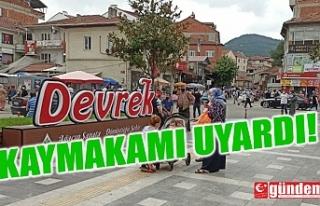 DEVREK KAYMAKAMI ALTAY UYARDI!