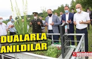 DEVREK'TE 15 TEMMUZ ŞEHİTLERİ DUALARLA ANILDI