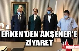 ERKMEN'DEN AKŞENER'E ZİYARET