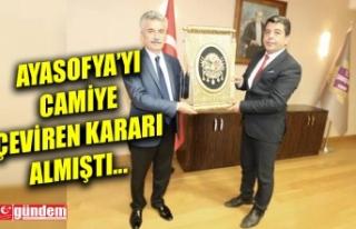 GENÇER'DEN DANIŞTAY YARDIMCISI YİĞİT'E...