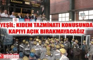 GMİS YÖNETİMİ, KARADON KİLİMLİ İŞLETMESİ'NDE...