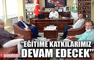 İL MİLLİ EĞİTİM MÜDÜRÜ TOSUN'DAN BELEDİYE...