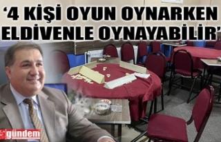 """""""KAHVECİ ESNAFININ BİRAN ÖNCE NORMALLEŞMESİ..."""