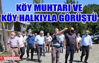 KAYMAKAM ALTAY KÖY HALKIYLA BİR ARAYA GELDİ