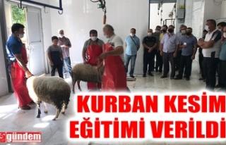 KDZ. EREĞLİ BELEDİYESİ TARAFINDAN KURBAN KESİM...