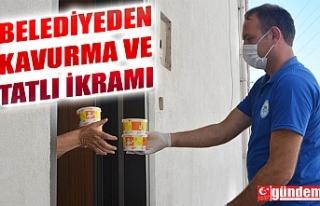 KDZ. EREĞLİ'DE BİN 300 AİLEYE KAVURMA İKRAM...