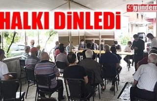 KİLİMLİ KAYMAKAMI TAŞDAN, HALK VE GÜVENLİK TOPLANTISI...