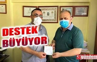 KIZILAY'IN KURBAN VEKALET ÇAĞRISINA DESTEK...