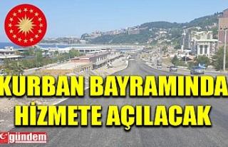 KOZLU KÖPRÜLÜ KAVŞAĞI KURBAN BAYRAMINDA HİZMETE...