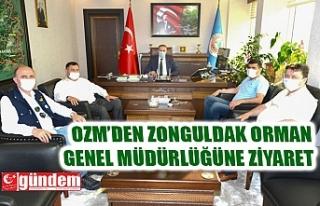 OZM'DEN ZONGULDAK ORMAN GENEL MÜDÜRLÜĞÜ'NE...