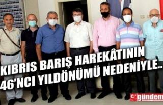 SAADET PARTİSİNDEN MUHARİP GAZİLER DERNEĞİ'NE...